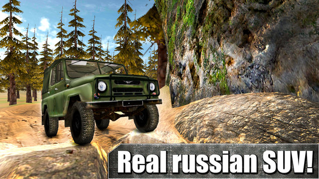 Russian UAZ: Offroad Racing 3D Free