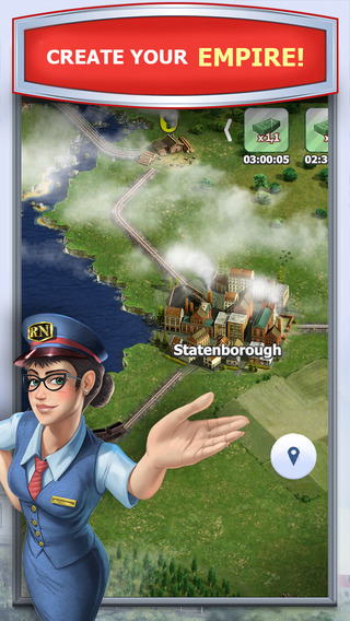Rail Nation - The railroad strategy game