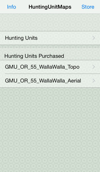 Hunting Unit Maps