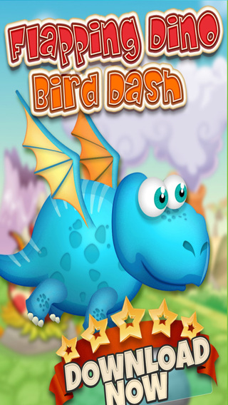 Flapping Dino Bird Dash Friends – Jurassic Land before Time of Ice Age Pro