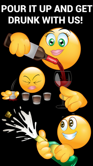 download Drunk Emoticons Keyboard - Adult Emojis & Extra Emojis By Emoji World apps 1