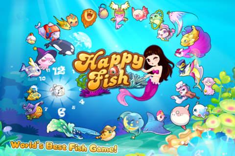 Happy Fish: Dream Aquarium app screenshot
