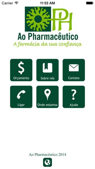 Ao Pharmacêutico Poços de Caldas