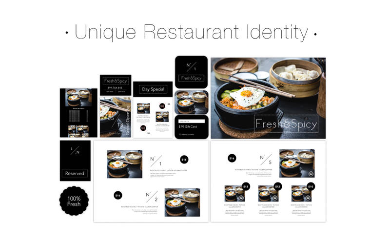 Suite for Restaurant Identity Screenshot - 5
