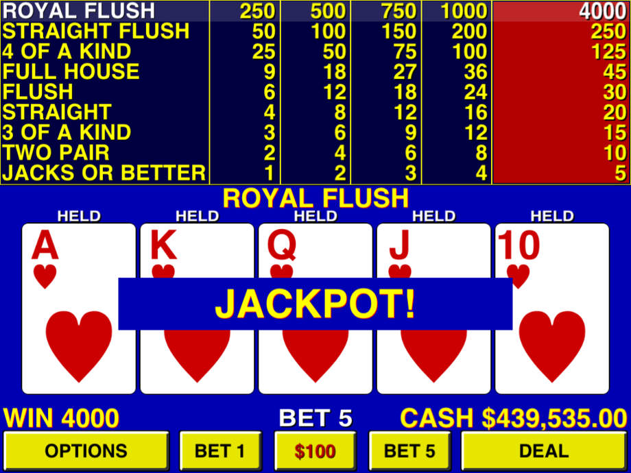 Video Poker ⋆ - iPhone Mobile Analytics and App Store Data