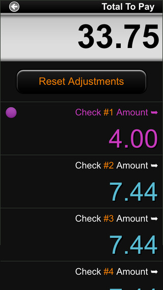 Cool Tip Calculator iPhone Screenshot 5