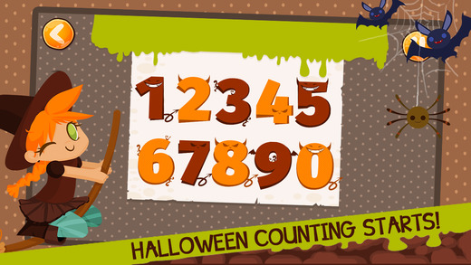 Halloween Counting For Kids FREE