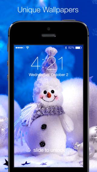 Christmas wallpapers – Xmas tree cards light santa more images