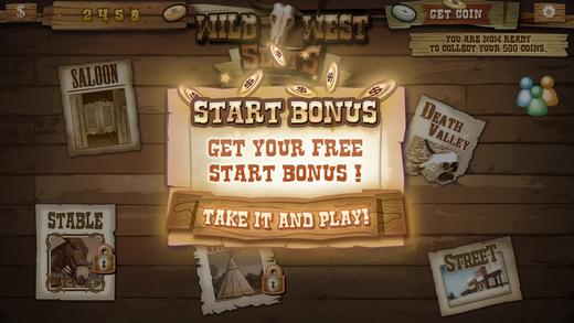 West Cowboy Slot Machine