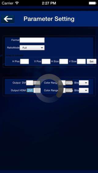 VSP 628PRO Software Control