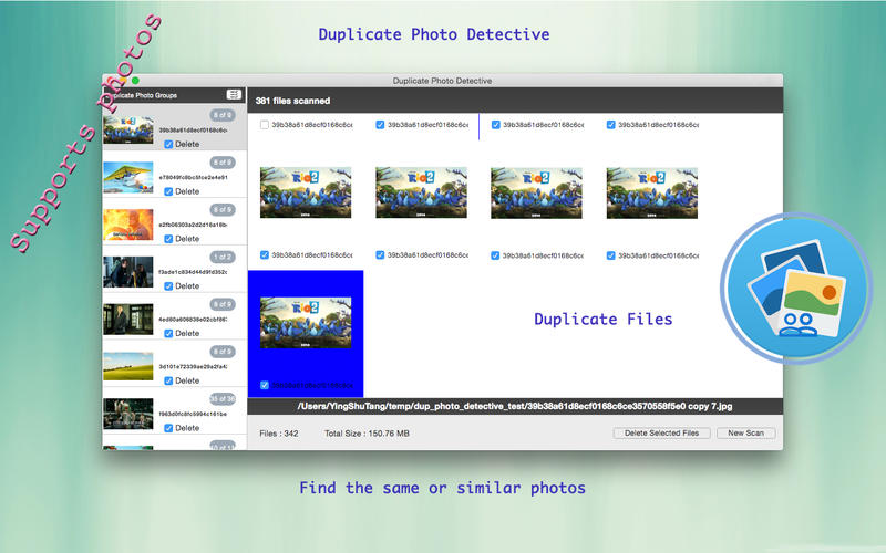 Duplicate Photo Detective Screenshot - 1