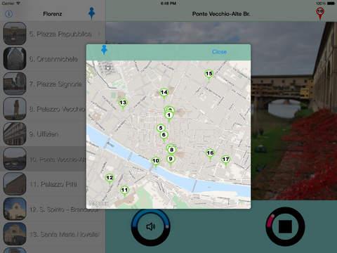 Florenz - Giracittà Audioführer iPad Screenshot 3