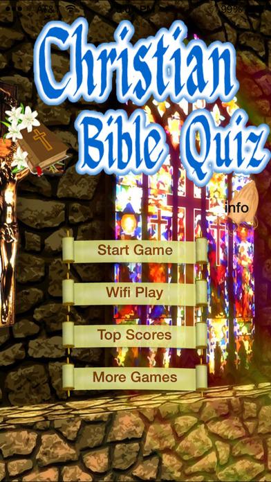 Jesus's Bible Quiz iPhone Screenshot 1