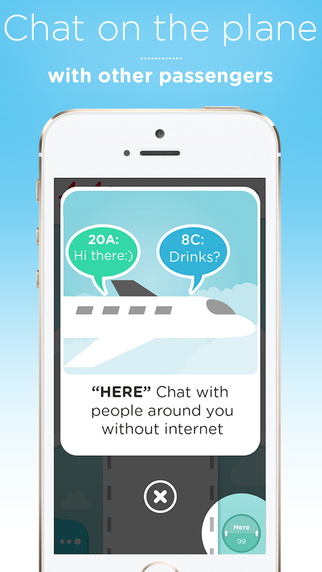 FlightChat - Chat on a plane