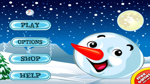 A Winter Holiday Ice Run FREE - The Frozen Christmas Snow-Ball Run for Kids
