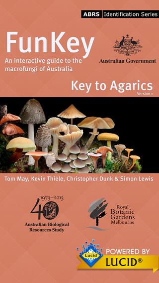 FunKey: Key to Agarics of Australia
