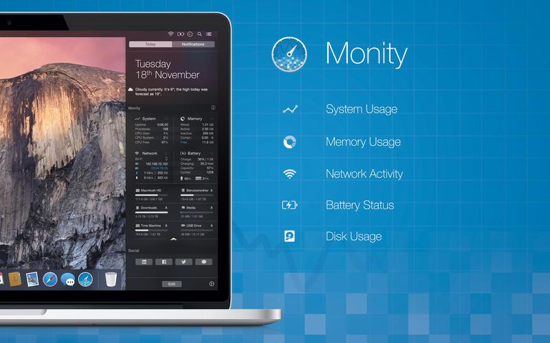 Monity Screenshot - 1
