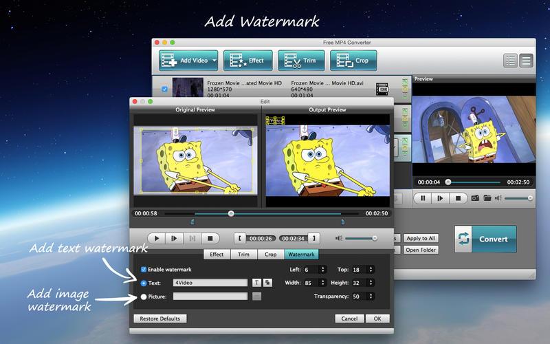 Free MP4 Converter Screenshot - 4