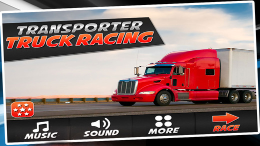 Transporter Truck Racing - Race Monsters