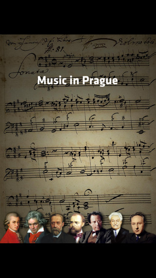 Music in Prague - multimedia application for classical music fans