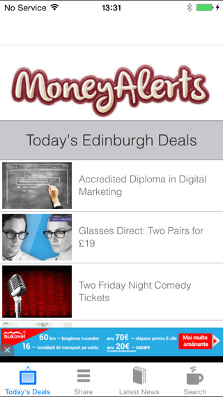 Edinburgh Deals Offers Coupons
