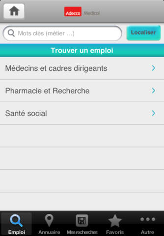 Adecco Medical screenshot 2