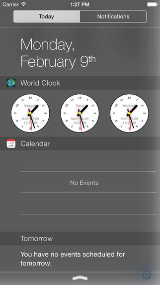 World Clock Extension