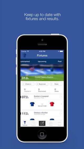 Everton FC Fan App