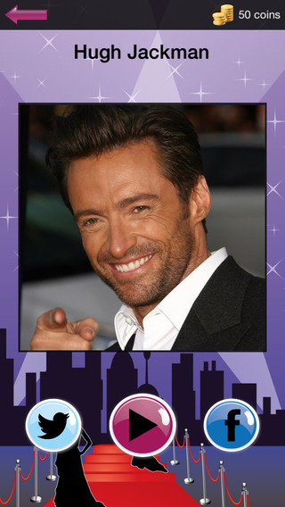 Hollywood Stars: Quiz game with Actors and Actresses