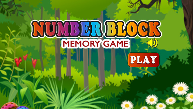 Numbers Block - Math Game for Kids Learning for Fun