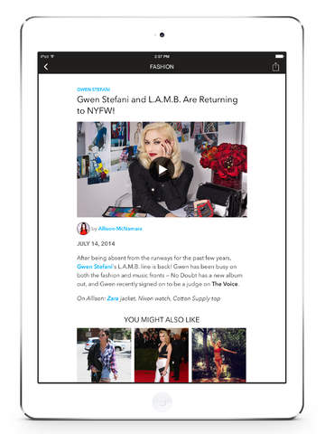 【免費生活App】POPSUGAR Fashion Week-APP點子