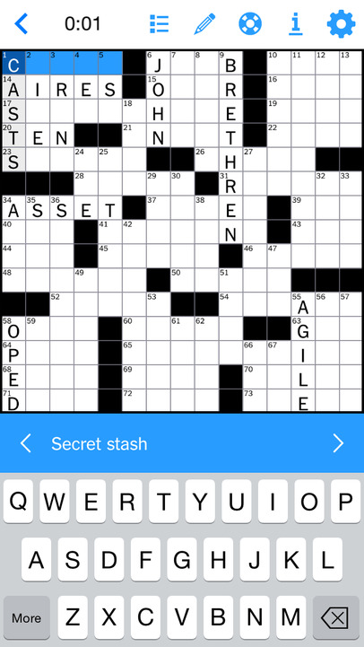 The New York Times Crossword - iPhone Mobile Analytics and App Store Data