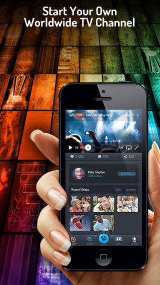 Realify- Broadcast live watch real videos on social streaming TV