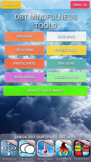 【免費健康App】DBT Mindfulness Tools-APP點子
