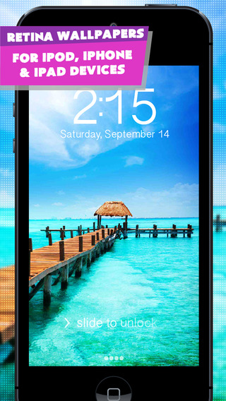 VIP Wallpapers FREE - HD Themes and Backgrounds for iPhone iPod touch iPad