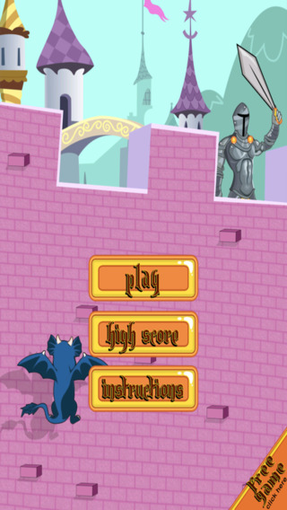 Ancient Winged Dragon Dash - Castle Climb Challenge Free