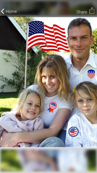 Flag Day - American Photo Celebration Adv