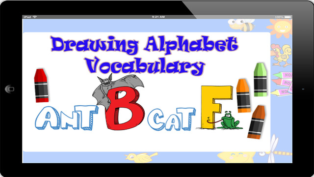 Kids English Vocabulary Learn Drawing And Coloring