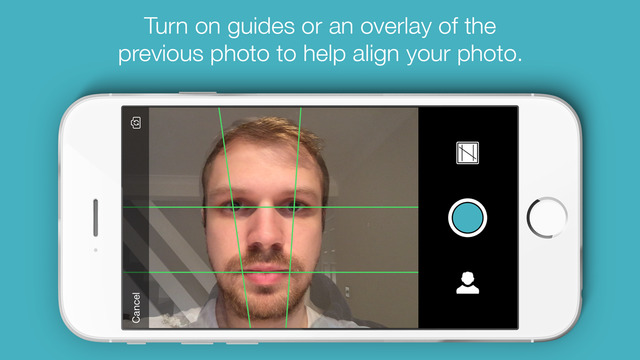 Dayli - Everyday photo journal and time-lapse creator Screenshot