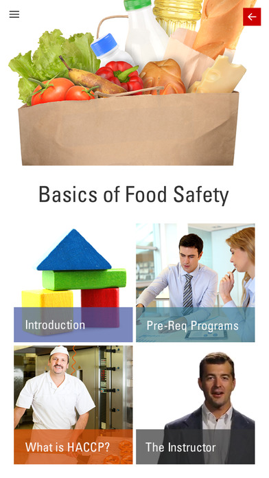 Food Safety Screenshot