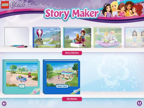 Lego Friends Story Maker Free Ipad Game App Decide
