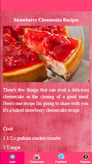 Strawberry Cheesecake Recipes