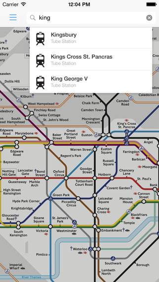 London Tube Live Pro - Underground Map Exits Status Route Planner