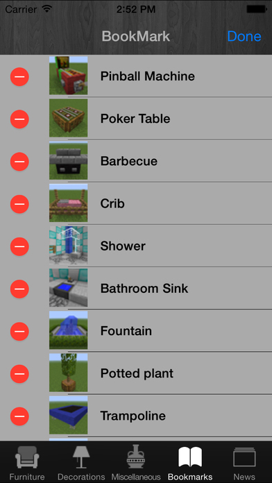 Furniture Guide For Minecraft Universal Free Edition Free Download Ver For Ios