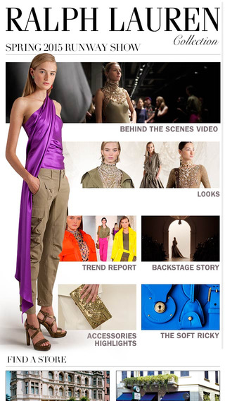 Ralph Lauren Collection – Fall 2014 Spring 2015 Fashion Shows