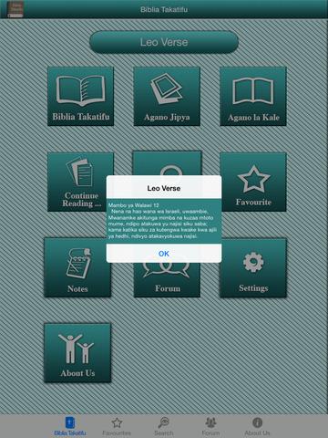 Swahili Bible Offline for iPad