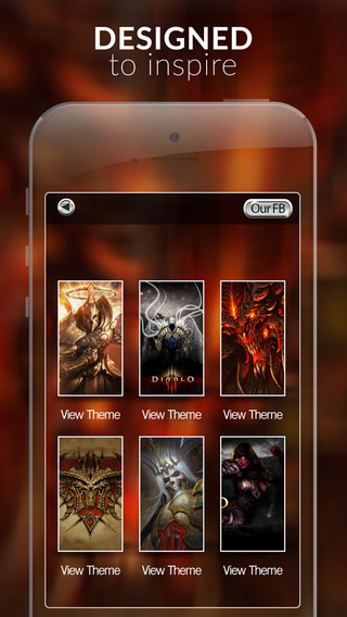 Video Games Wallpapers : HD Horror Gallery Themes and Backgrounds For Diablo Collection