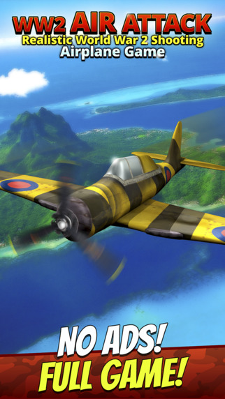 WW2 Air Attack - Realistic World War 2 Shooting Airplane Game
