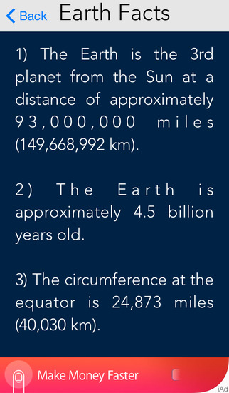 Earth Speed