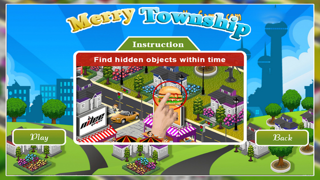 Township Hidden Object Game for Kids and Adults